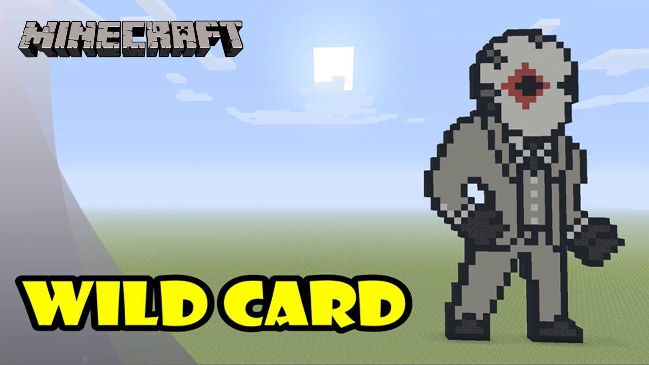 Minecraft Pixel Art Tutorial Wild Card Diamonds