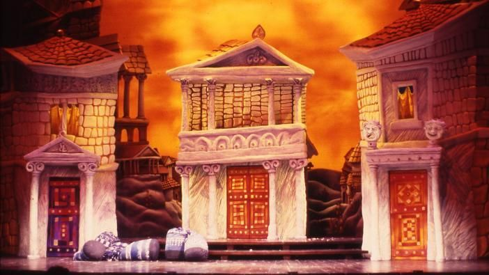 A Funny Thing Happened On The Way To The Forum Tony Walton Set