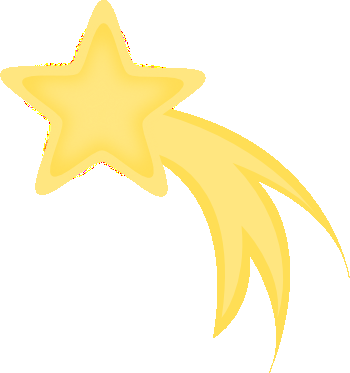 falling star free clipart the moon and stars pinterest art rh pinterest ca clipart shooting star shooting star clipart gif