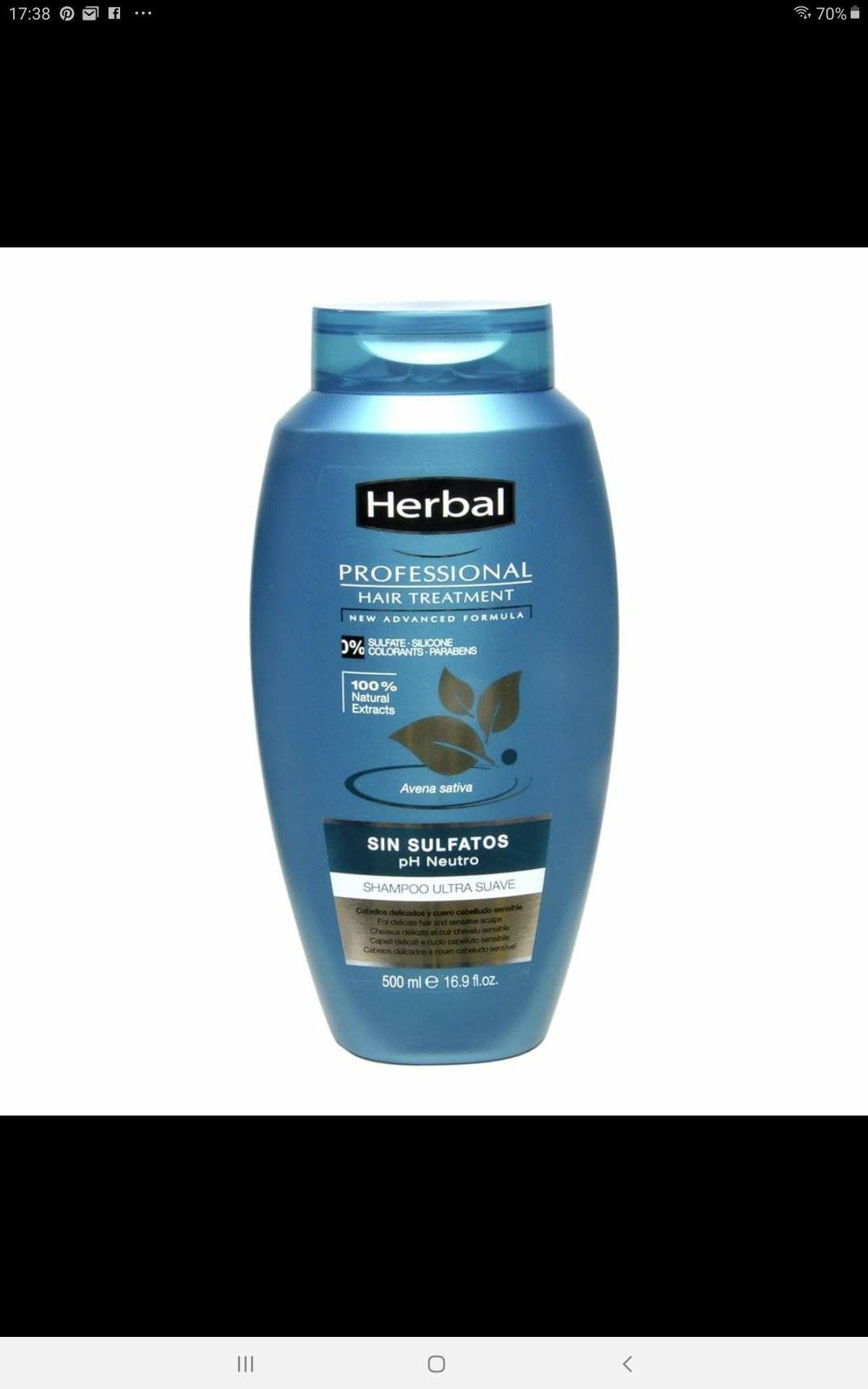 Pin De Mapi Romaní En Curli Shampoo Herbal Tratamiento Para El Pelo Champu