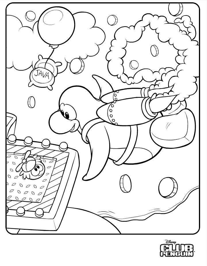 Club Penguin Cat And Dog Puffles Clubpenguin 1 Coloring Page Coloring Pages Animal Coloring Pages Club Penguin
