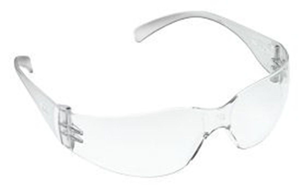 3m virtua safety glasses clear polycarbonate hard coat