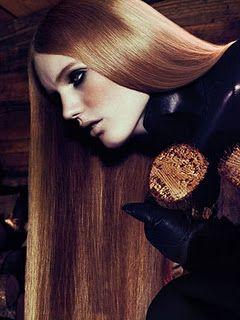 Vogue Cabin Fever Lange Rote Haare Rote Haare Haare