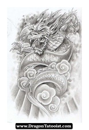 Japanese Dragon Tattoos 3 Pinterest Tatouage Tatouage Dragon
