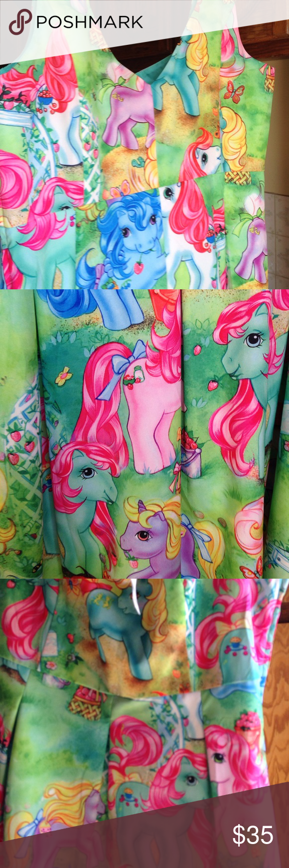 (REPOSHING) NWT My Little Pony Dress (REPOSHING) NWT My Little Pony Dress. I Bought Medium but they realized it was An XL. It's Way Too Big for Me. I'm Selling it for what I Bought it for. $35. There is A Slight Musty Smell to it. That's the way I Received it. ***NO TRADES OR HOLDS*** Iron Fist Dresses