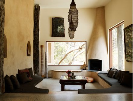 Natural modern interiors xavier rudd s home natural finishes