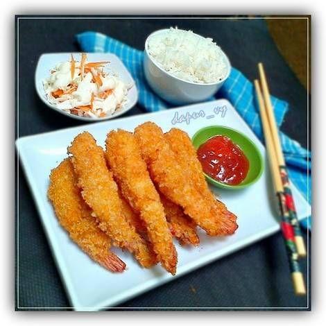 Resep Ebi Furai Salad Mayonaise Ala Ala Hokben Oleh Dapurvy Resep Resep Masakan Ramadhan Makanan Dan Minuman Resep