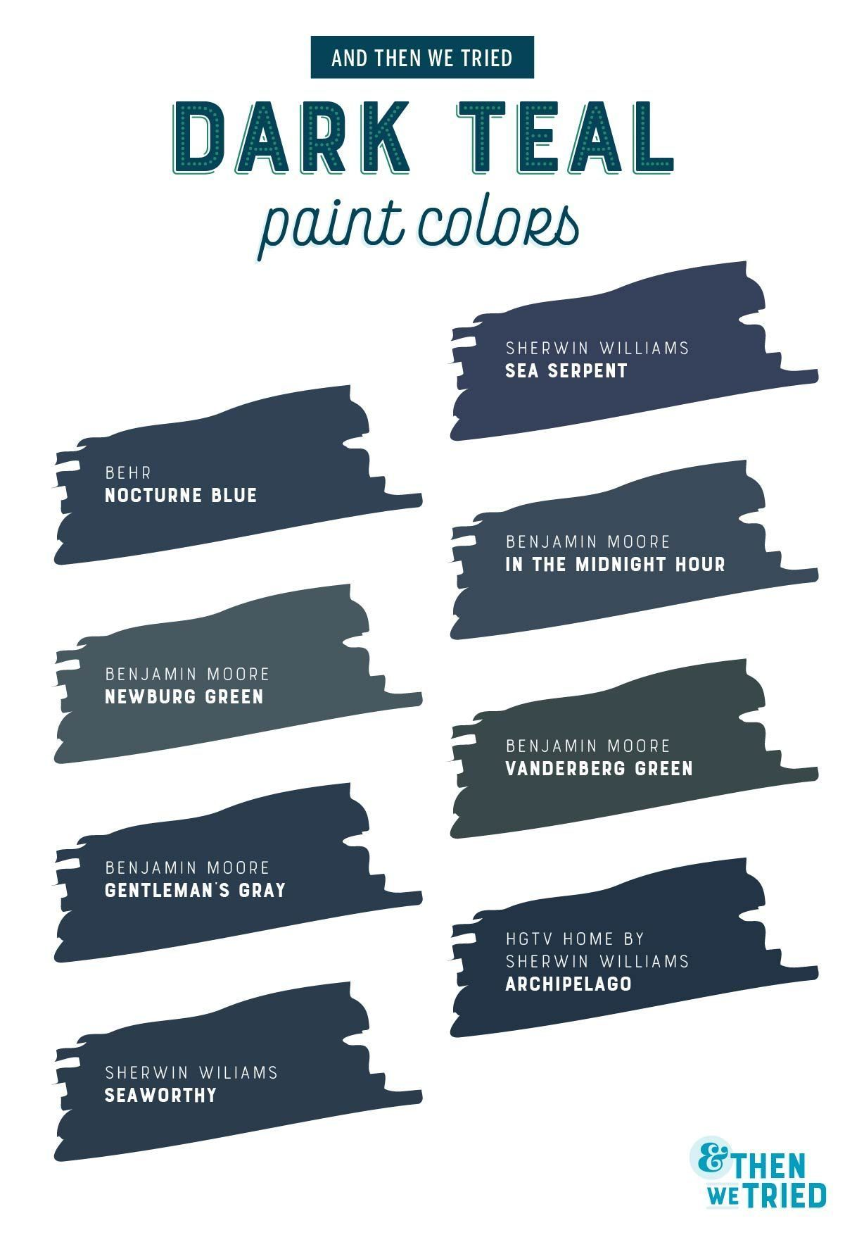 Choosing the Perfect Dark Teal Paint Color