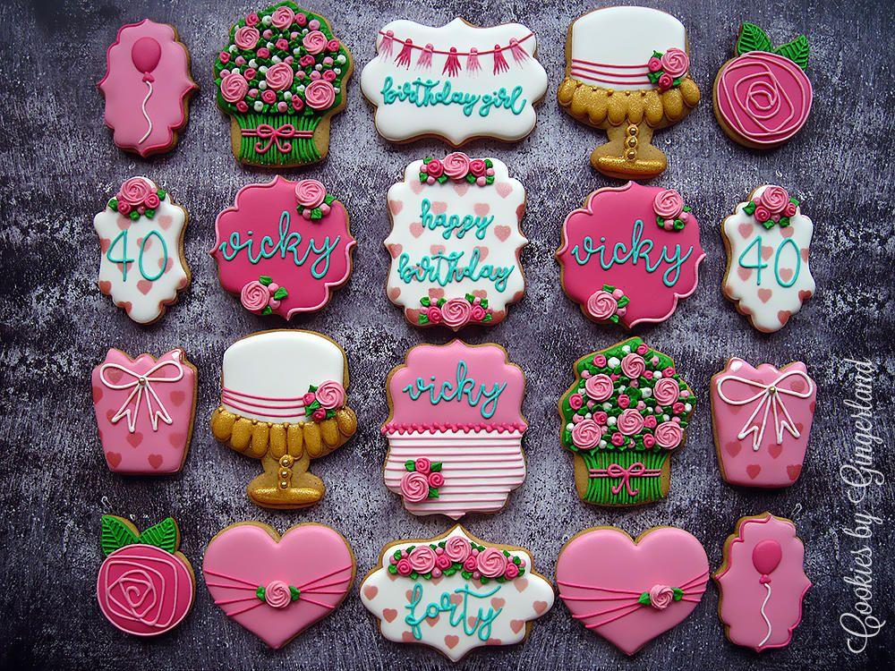 Birthday Cookies 2017 Decorated Cookies In 2019