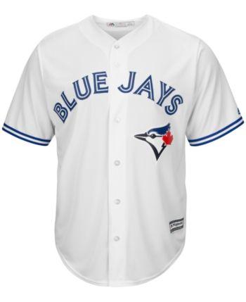 super popular 09040 57b22 Majestic Men's Toronto Blue Jays Replica Jersey - White XXL ...