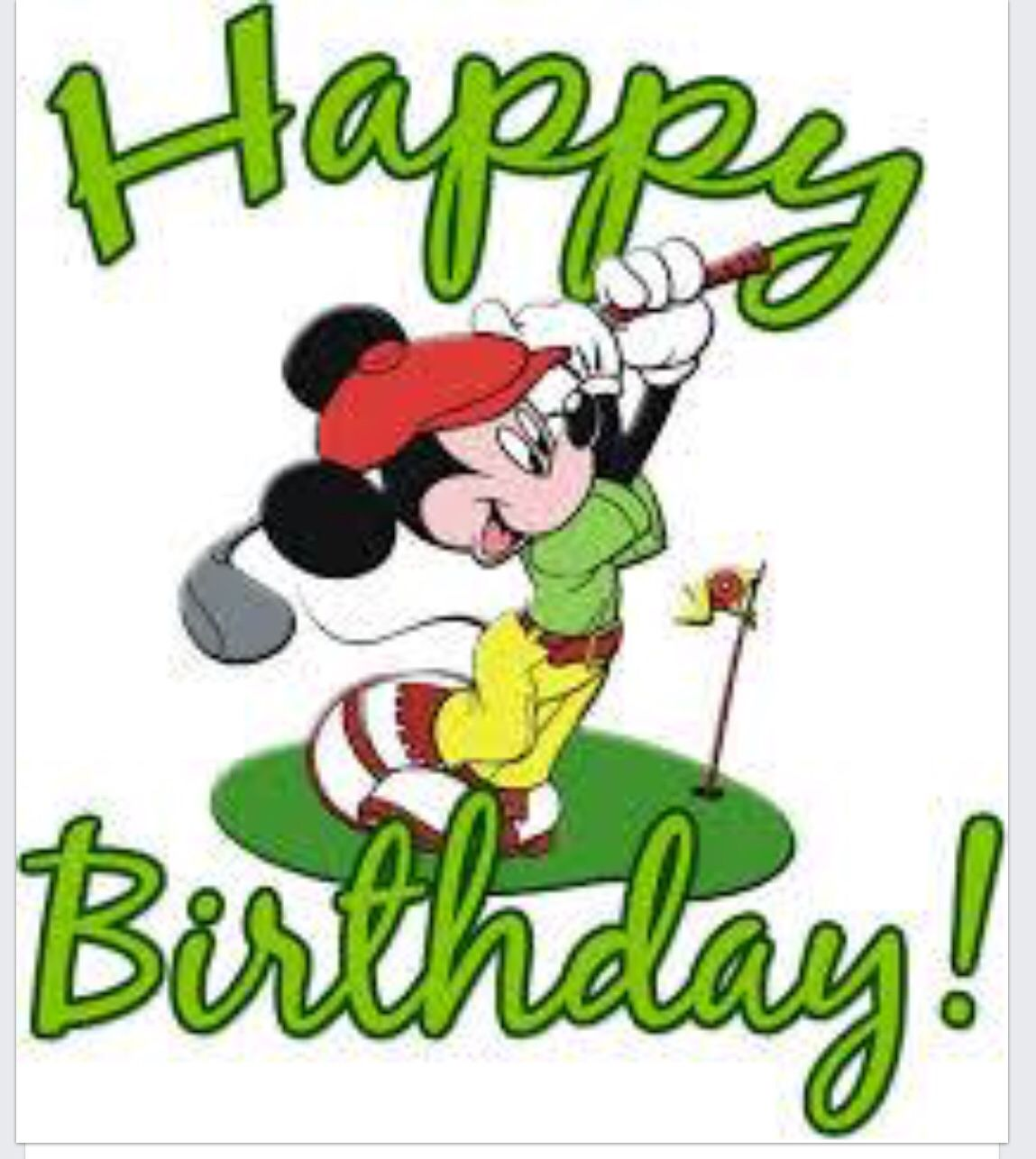 Pin By Grammie Newman On Birthday Pinterest Birthdays And Mickey Mouse Wishing Happy Birthday