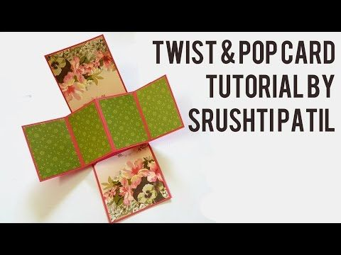 2fecd7396 Twisted Pop-Up Card Using Floral Boutique and Delightful Dijon ...