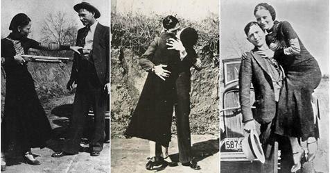 Resultado de imagen para Bonnie y Clyde, la historia de pasión y terror de un amor criminal