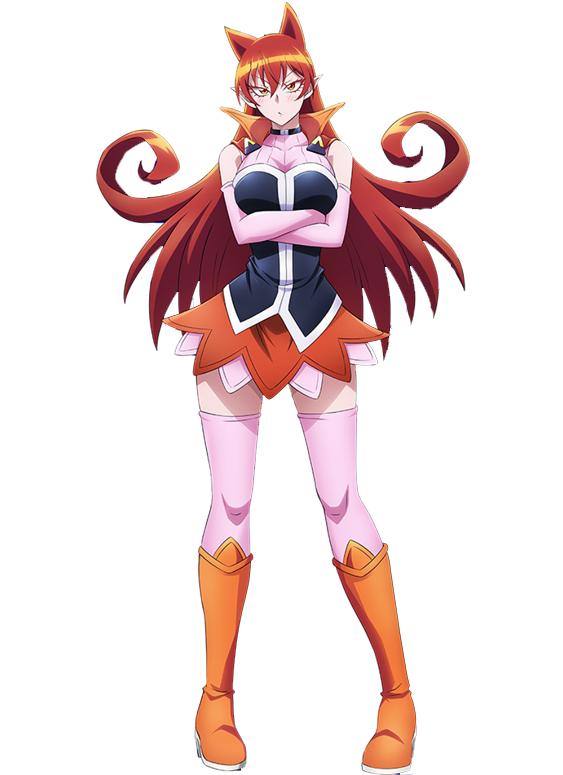 Azazel Amelie Chica anime, Diseño de personajes, Personajes