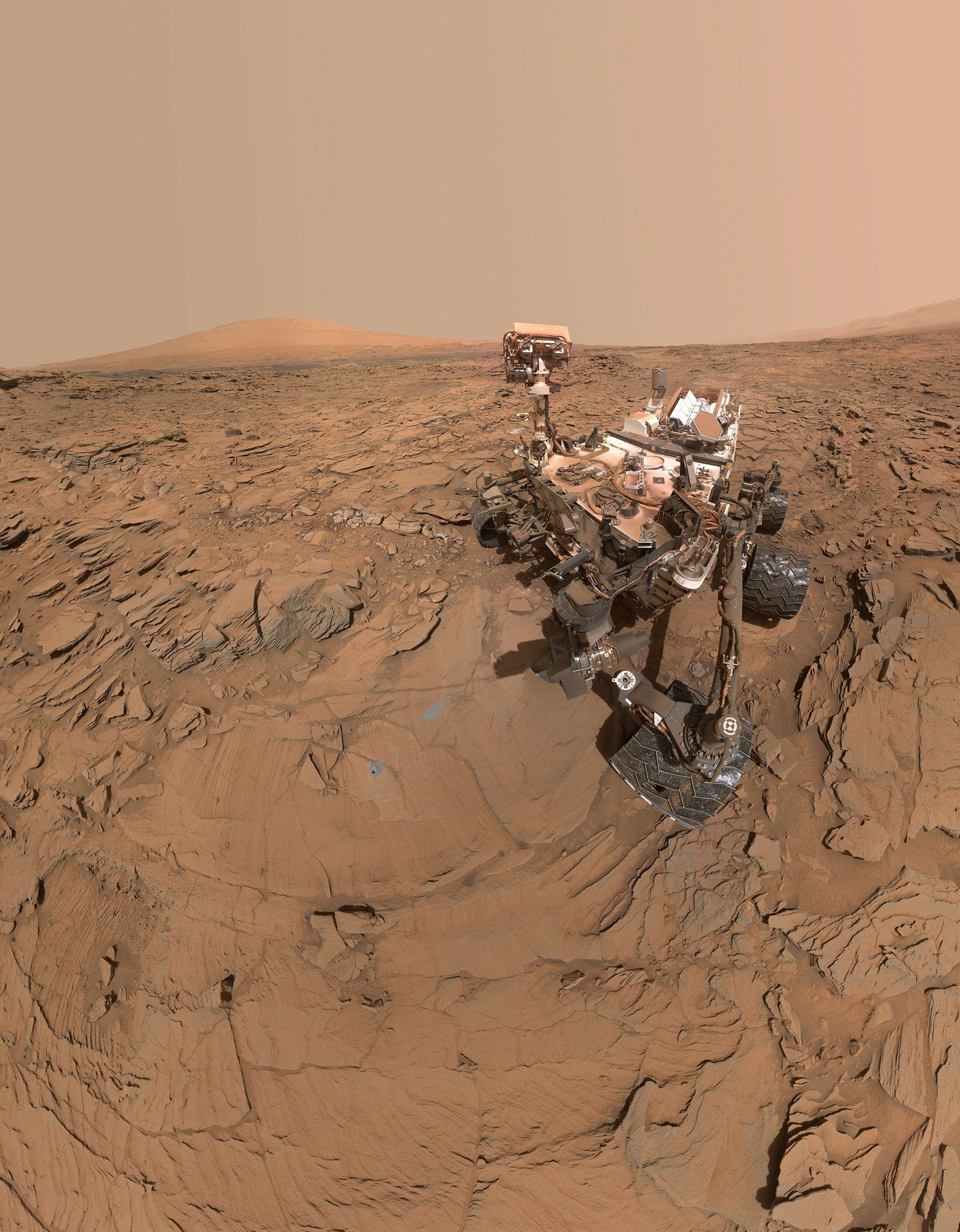 See A Mars Rover Selfie And Saturn S Broken Ring Curiosity Mars Mars Rover Curiosity Rover
