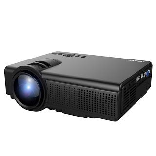 NEW!! TENKER Q5 Projector, 1500 LUX LCD Video Projector, Multimedia ...