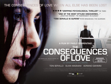 The official Italian title: Le conseguenze dell'amore  I love love love this film!  Not too much dialogue. Quite a quiet film but the silence was...