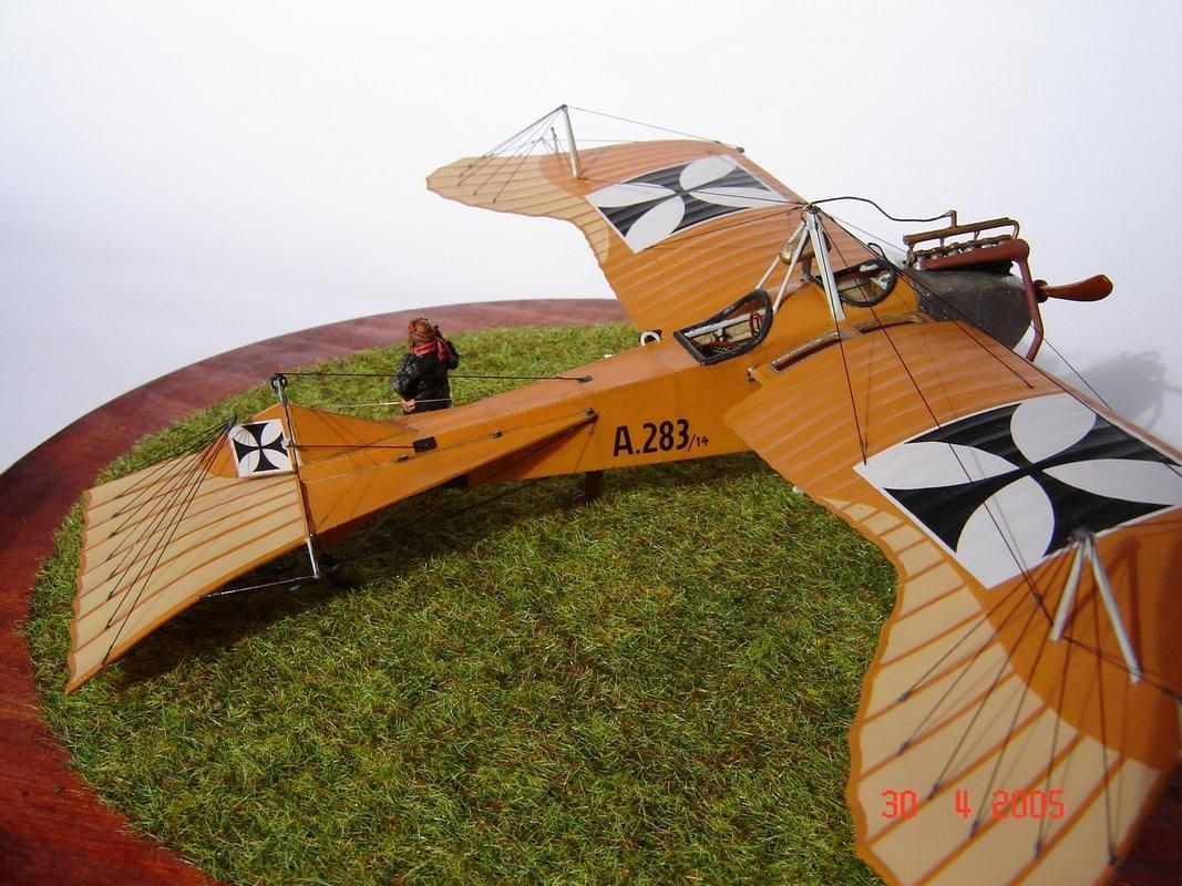 German Taube Aircraft Airplanes Model Airplanes