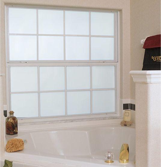 Nice Frosted Windows For Bathrooms In Bathroom Windows Design With - How to frost a bathroom window for bathroom decor ideas