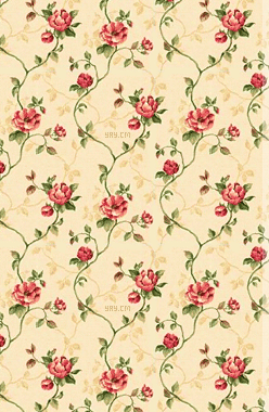 red floral vines from totallylayouts printables background
