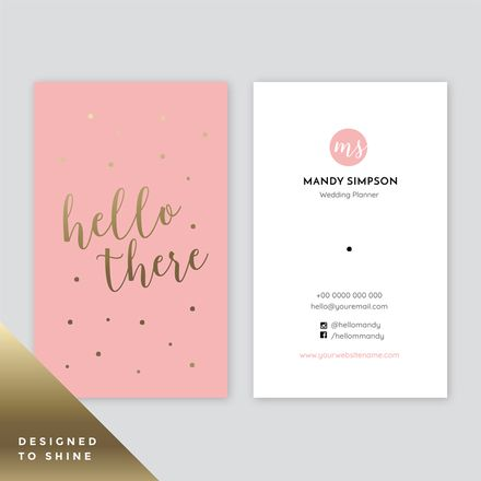 Shiny Cards Easil Customizable Business Cards Templates Gold Graphic Design Business Card Template