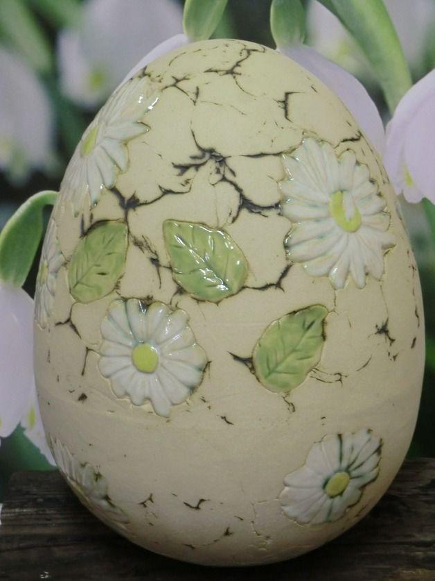 Osterdeko - Ei (30 cm) - ein Designerstück von Atelier-Keramixx bei DaWanda #ceramicmugs