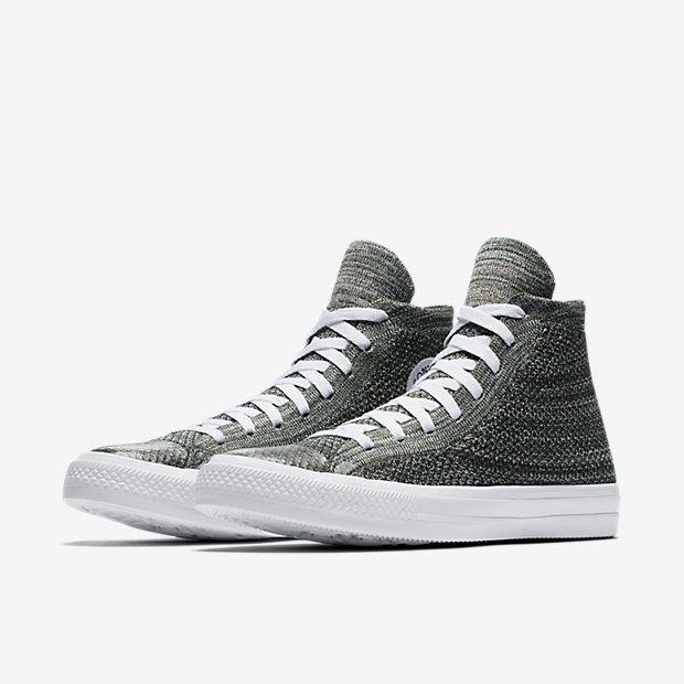 386ea32f5909e9 Converse Chuck Taylor All Star x Nike Flyknit High Top Unisex Shoe ...