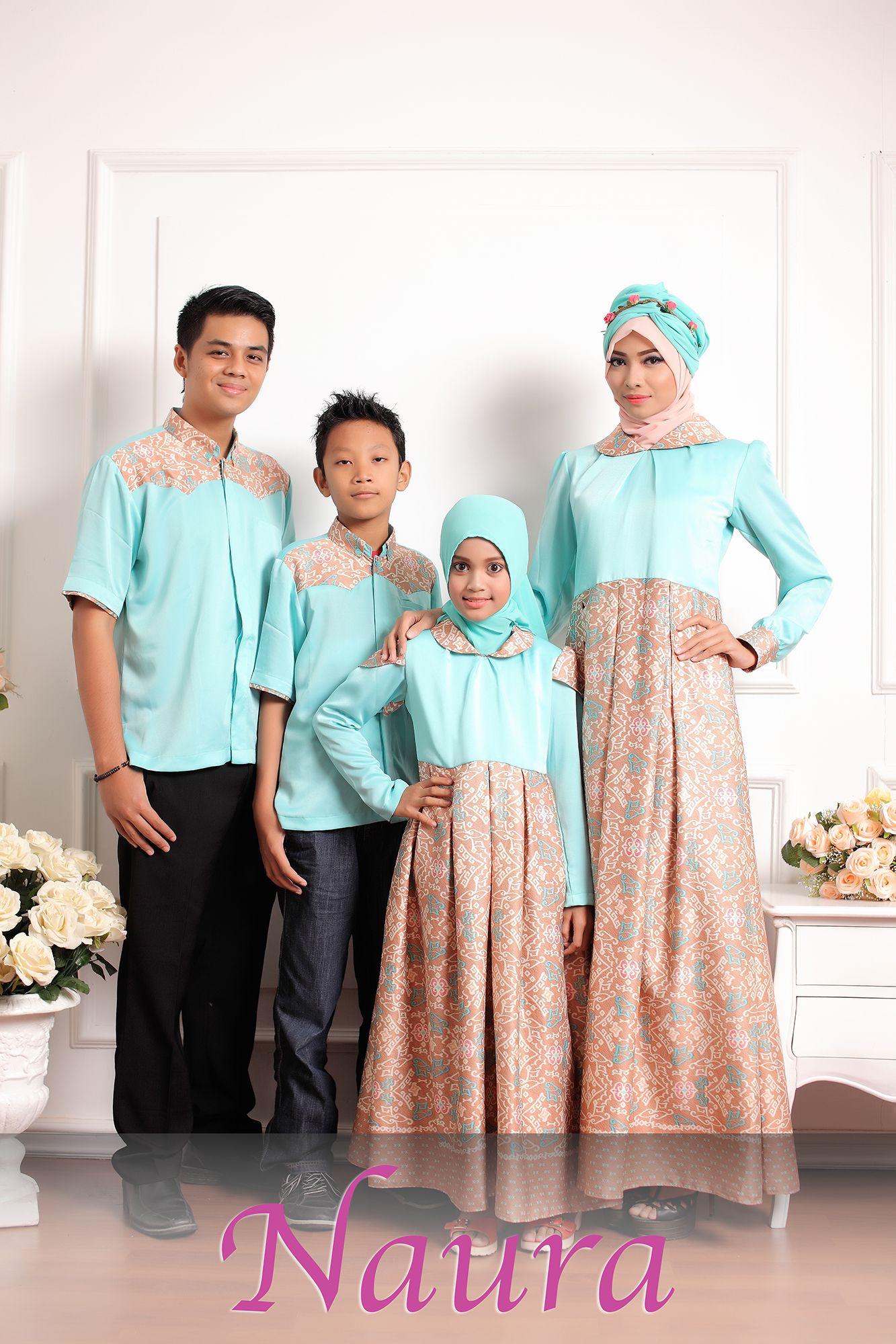 Model Baju Seragam Keluarga Untuk Lebaran 2019
