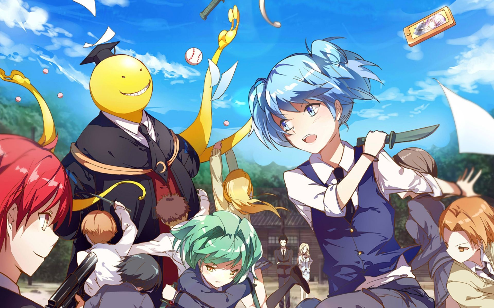 Anime Wallpapers Classroom Pictures Anime Assasination Classroom