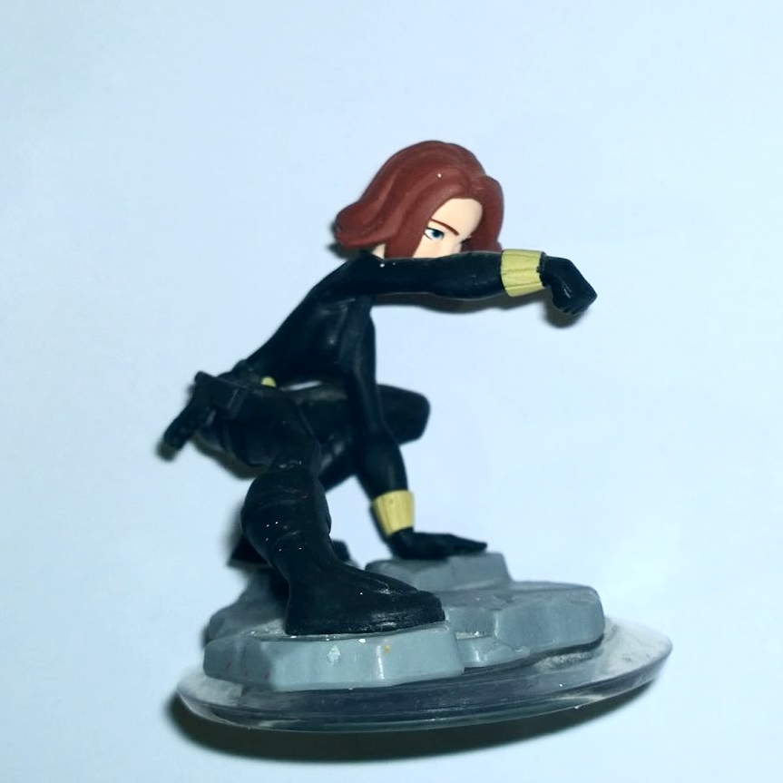 ITEM Disney Infinity Black Widow works on all consoles and