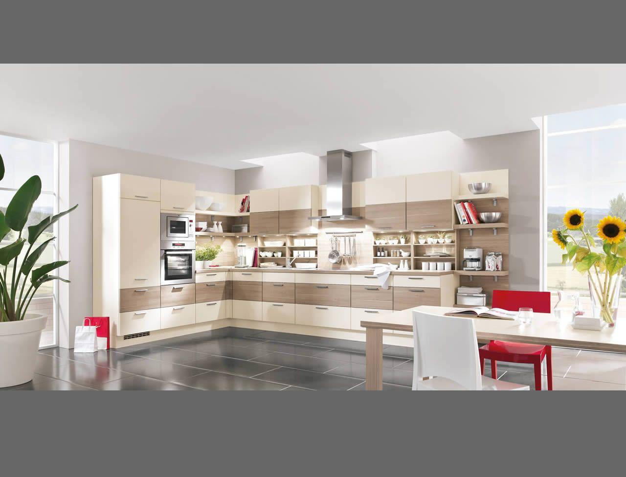 Schön Laser 426 Hones Ivory / Flared Oak Reproduction Palazzo Kitchens U0026  Appliances Nobilia Küchen   Kitchens