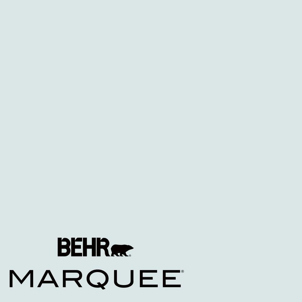 Behr Marquee 1 Gal Mq3 51 Crystalline Falls Eggshell Enamel One Coat Hide Interior Paint And Prim Behr Blue Paint Colors Light Blue Paint Colors Behr Marquee