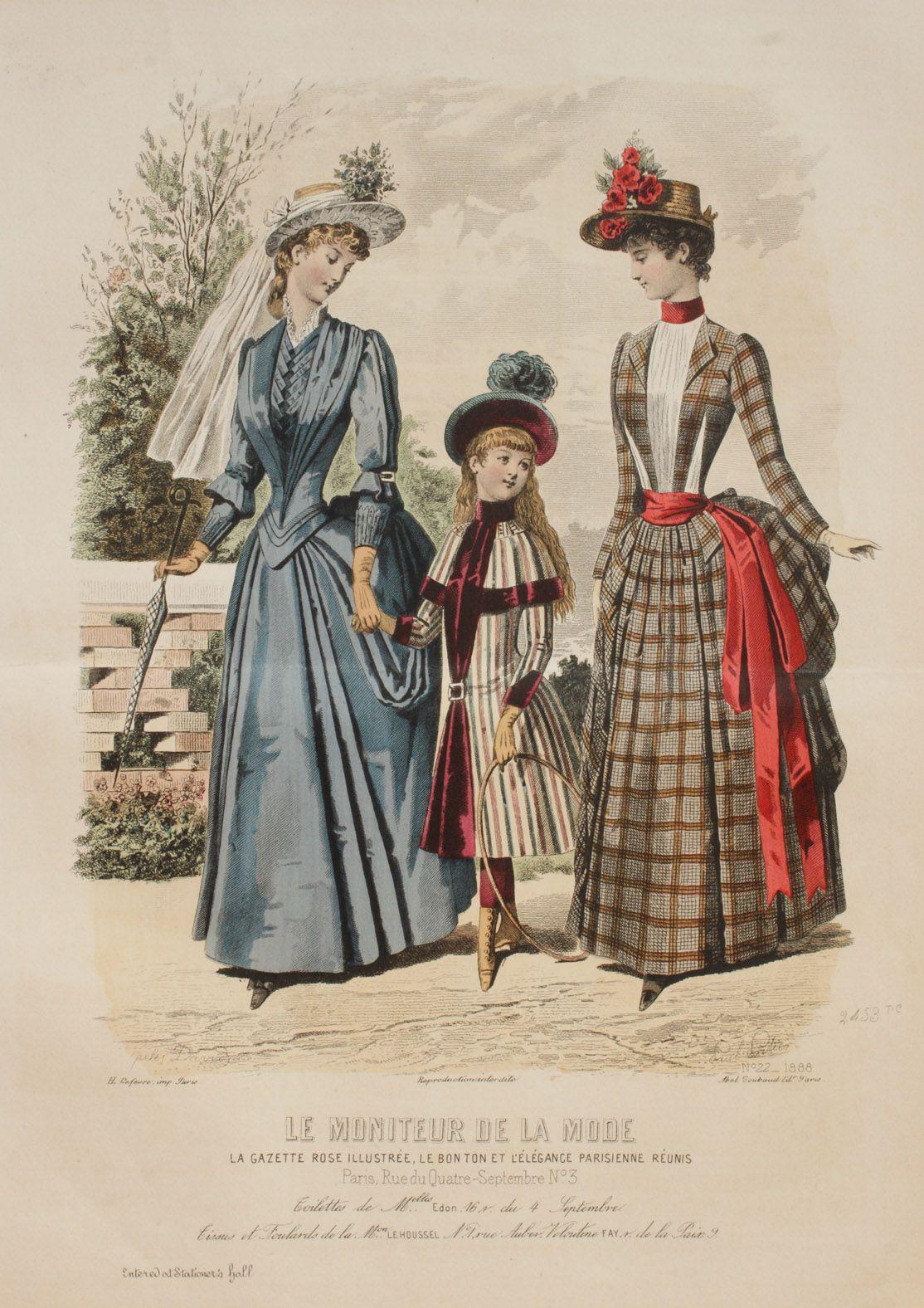 le moniteur de la mode 1888 bilder kunst malerei pinterest modezeichnungen. Black Bedroom Furniture Sets. Home Design Ideas
