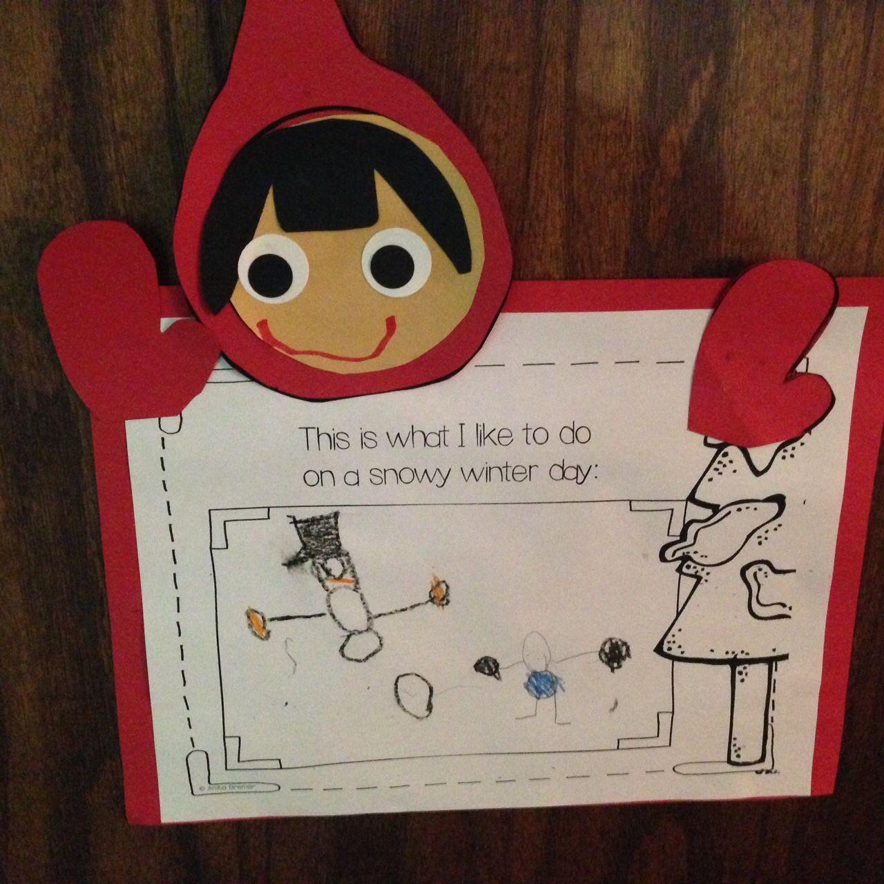 Preschool Wonders The Snowy Day And The Mitten Activities