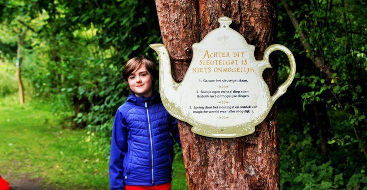 ALICE IN WONDERPARK - Tijdelijke originele wandeling in het Vrijbroekpark Mechelen - Nooitgedachtland - Origineel Leven