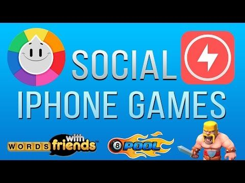 Best Social iPhone & iPad Games to Play with your Friends