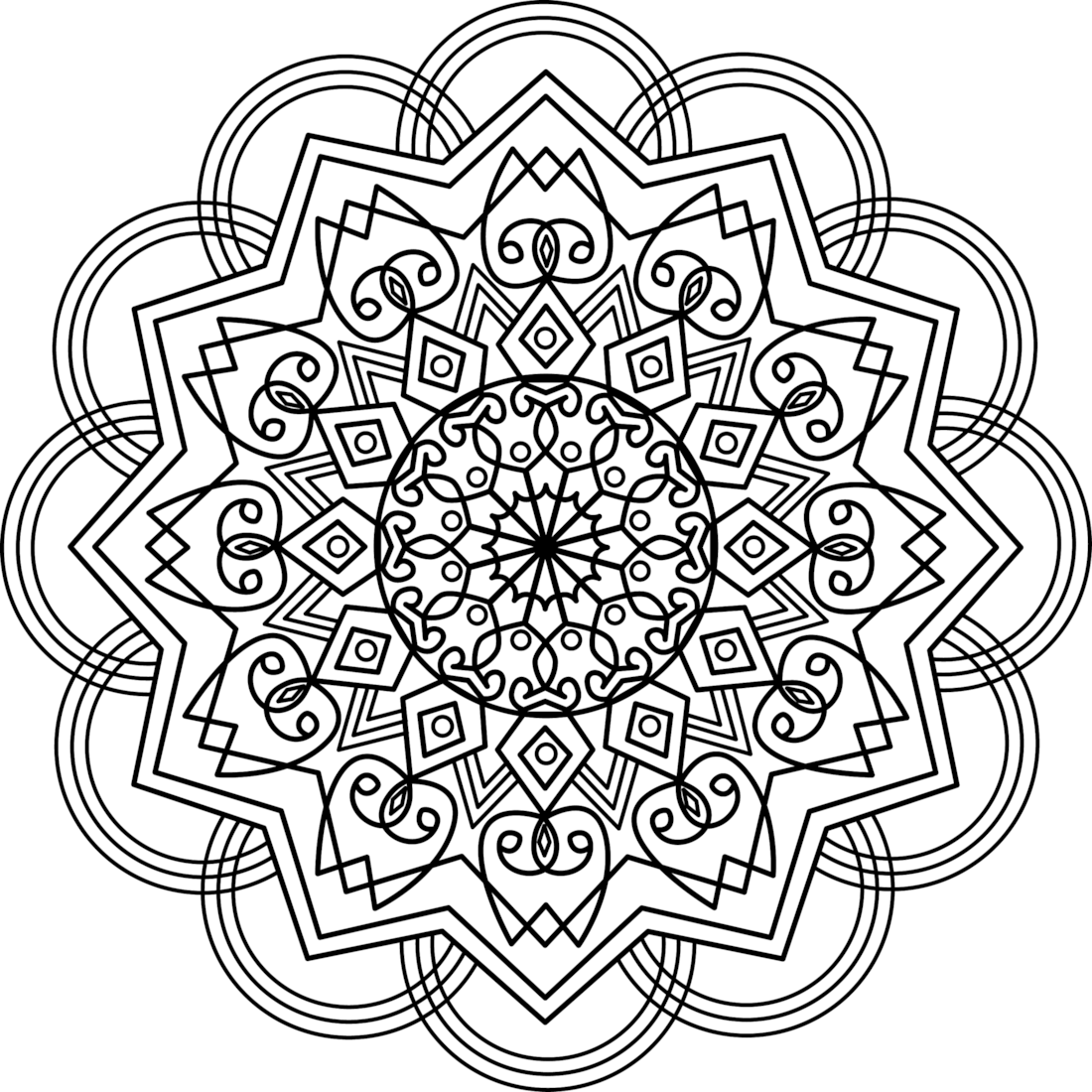 Picture of True Kasali coloring page | Coloring - Monday Mandalas ...