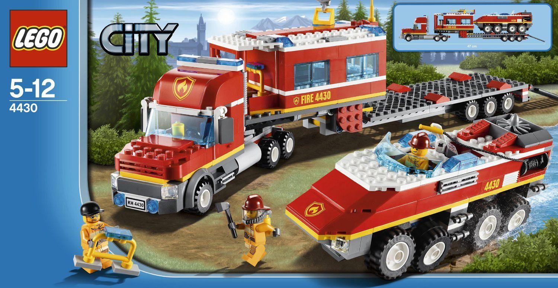 Transporter Fire City Lego 4430CityJeux Et 4L5AR3jcqS