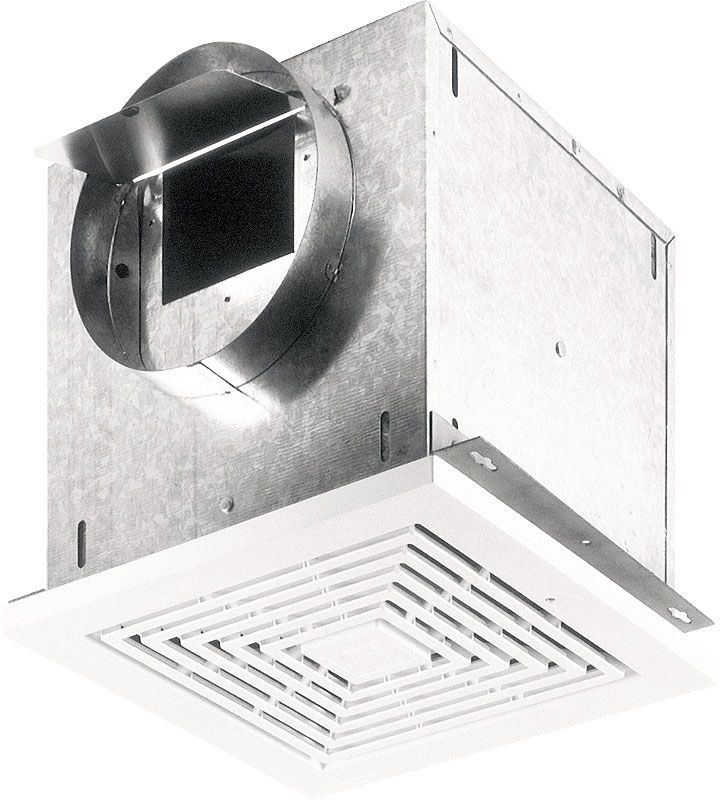 Broan L250 261 Cfm 27 Sone Ceiling Or Wall Mounted Ventilator White