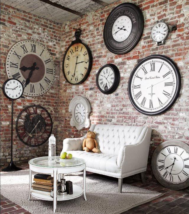 Living 11 Room Maisons Du Monde Clocks In 2018 Pinterest