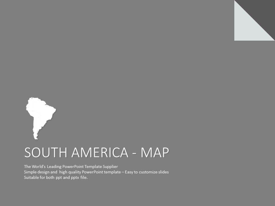 south america google slides template map presentationdesign map