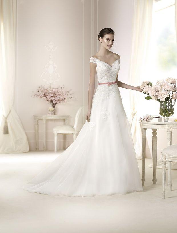 Pronovias 2015 Designer wedding gown danica | Wedding dresses ...