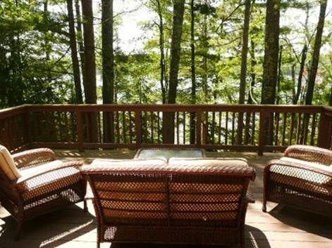 Deck Through Trees Looking At Water Decks Pinterest