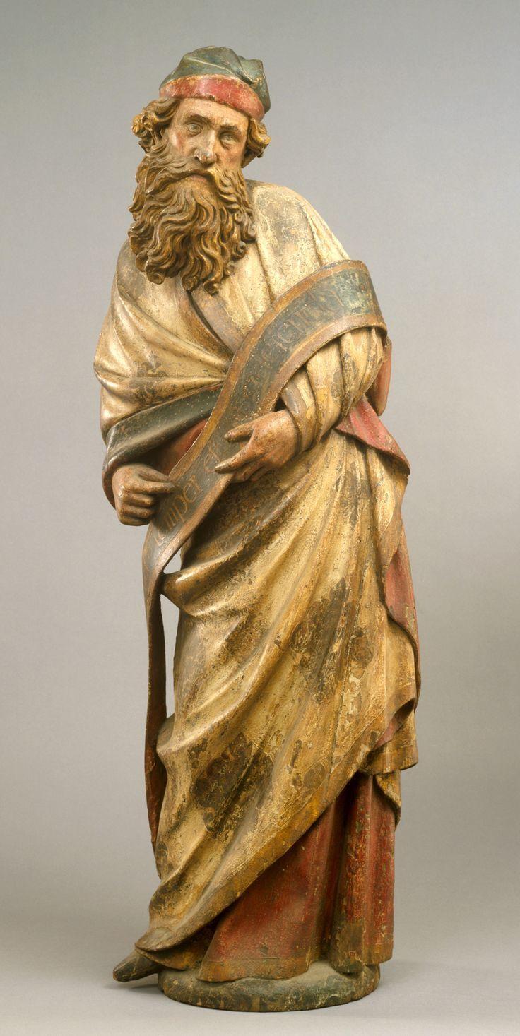 Prophet from Cologne Town Hall, circa 1430-1440, oak. Museum Schnütgen, Cologne