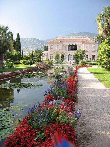 Villa Ephrussi de Rothschild, St Jean Cap Ferrat , France
