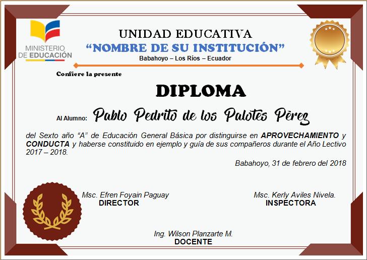 DIPLOMA PARA NIÑOS-DIPLOMAS PLANTILLA-DIPLOMAS PARA EDITAR-DIPLOMAS ...