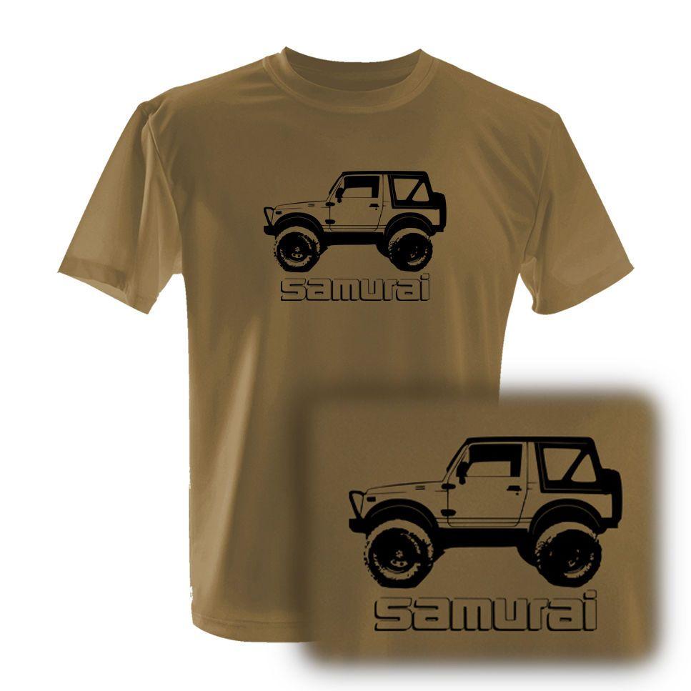 Suzuki Samurai Modified Tdi 4x4 Off Road Vehicle T Shirt Size S