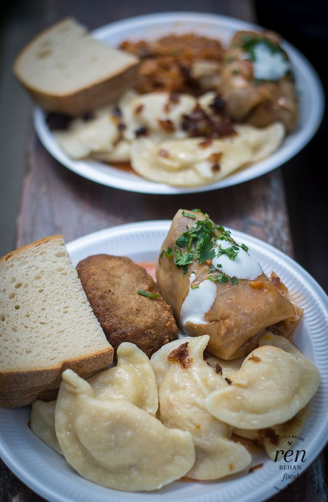 Polish food at the Days of Poland Festival, London #polish #food #ethnic #pierogi #bigos