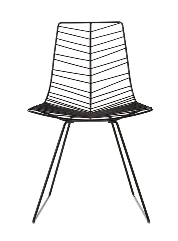 Ansprechend Esszimmerstühle Metall Galerie Von Arper Leaf Chair | Mintroom.de #arper #mintroom