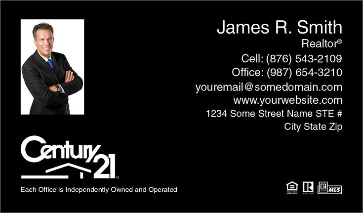 Black professional century 21 business cards at surefactor black professional century 21 business cards at surefactor accmission Gallery